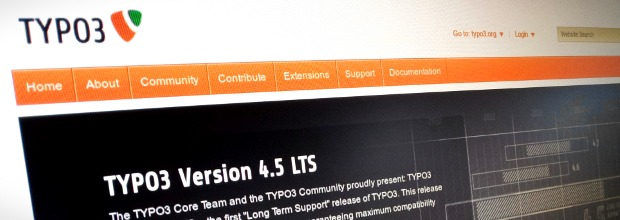 typo3.org screenshot